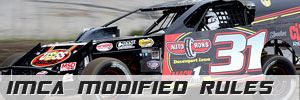 Davenport Speedway IMCA MODIFIED RULES Rules
