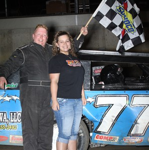 May 4th 2012 Winner DAVENPORT SPEEDWAY C1 297x300 2012 Photos